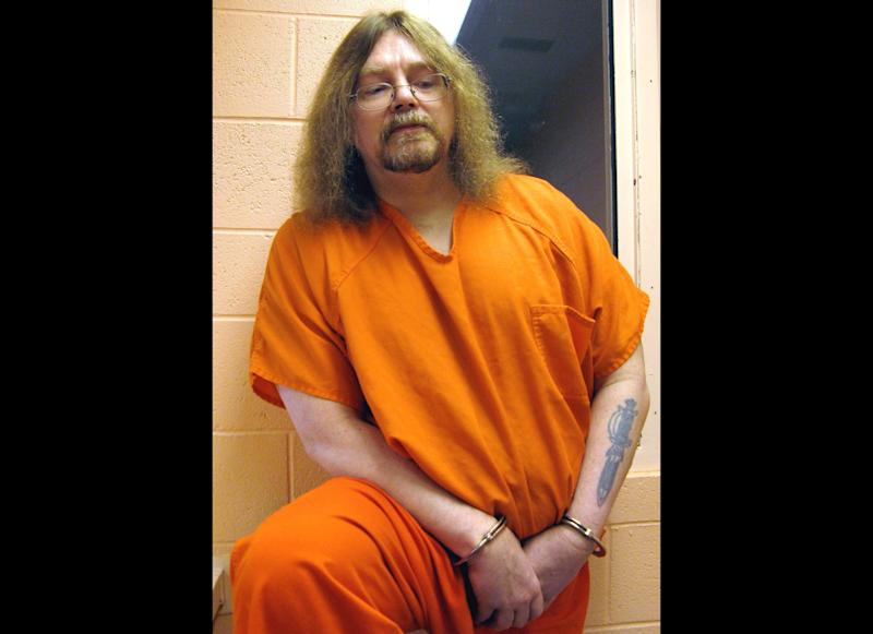 FILE - In this Monday June 30,2008 file photo Ronald Smith, a Canadian on death row in the United States, who has spent the last 25 years trying to avoid the death penalty for two 1982 murders, at the Montana State Prison in Deer Lodge, Mont. A Canadian on death row in Montana for killing two men 30 years ago was dealt a major blow Monday in his bid to avoid execution, after the state's board of pardons and parole recommended Ronald Smith be denied clemency. (AP Photo/The Canadian Press, Bill Graveland, File)