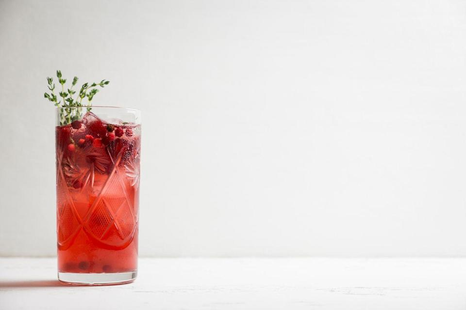 """<p>When you're hosting, it's always nice to have the ingedients for one really great cocktail to hand. Even better if it's a cocktail you've devised yourself! My favourite cocktail at the moment is my <a href=""""https://www.peroniuslocator.com/recipe"""" rel=""""nofollow noopener"""" target=""""_blank"""" data-ylk=""""slk:Peroni Regalo"""" class=""""link rapid-noclick-resp"""">Peroni Regalo</a>, which combines ice-cold beer with bourbon, orange and Christmas spices. Happy holidays!</p>"""