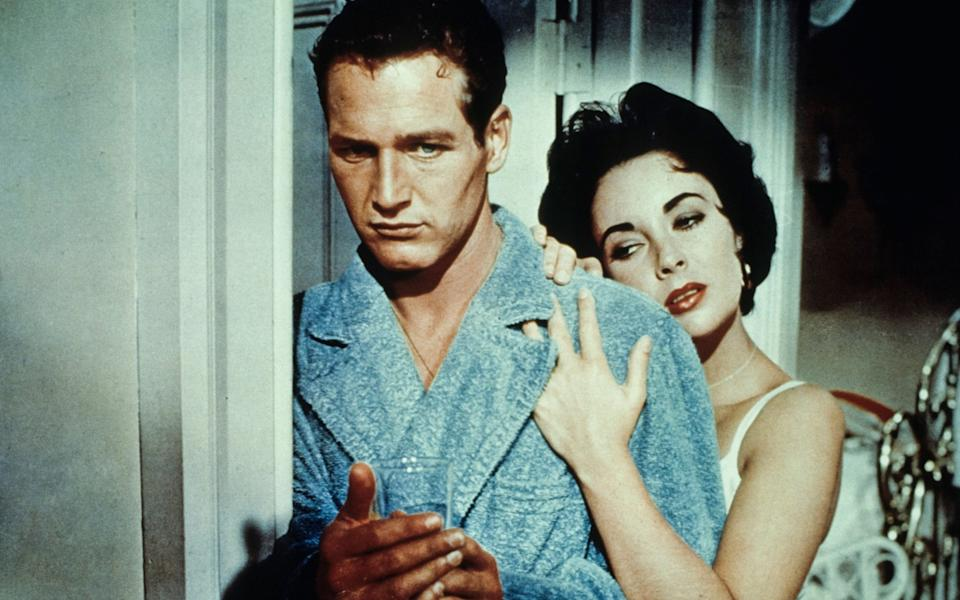 Elizabeth Taylor and Paul Newman in Cat on a Hot Tin Roof: 'She has a marvellous ee-yah,' Marguerite Littman said of the actress - Marka/Alamy