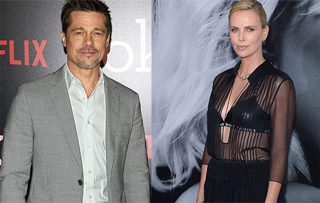 Are Brad and Charlize hooking up in secret? Source: Getty