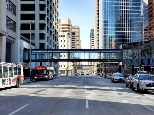 Calgary council has approved a plan, and an initial investment of $200 million, to revamp the struggling downtown core.  (Jim Brown/CBC - image credit)