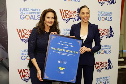 United Nations appoints Wonder Woman as honorary ambassador