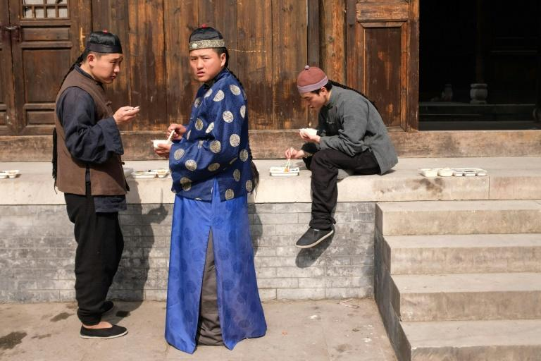 Sets at China's Hengdian studios range from ancient palace complexes that can accommodate casts of thousands to contemporary mansions and modern green screens
