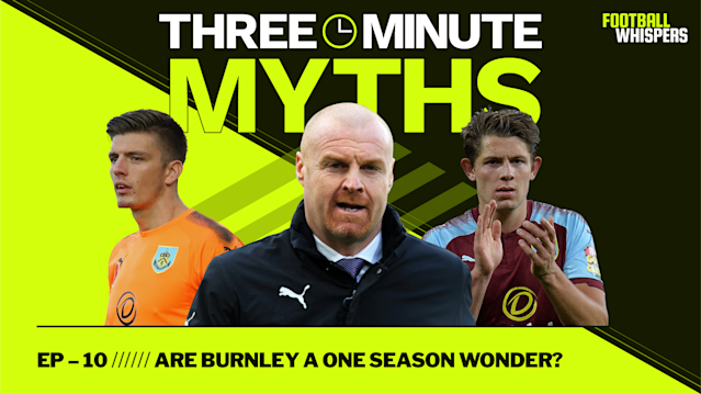 Burnley have caught the eye this season, but are they lucky to sit in 7th in the league? That's the question asked in this week's Three Minute Myths. Subscribe for more data-driven analysis of the Premier League's biggest narratives.