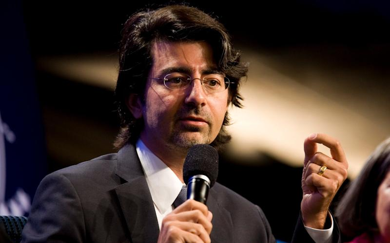 Pierre Omidyar set up the Omidyar Network to distribute his wealth after the flotation of eBay made him a billionaire - Getty Images North America