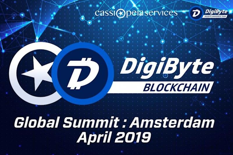 DigiByte Global Summit to take place tomorrow in Amsterdam