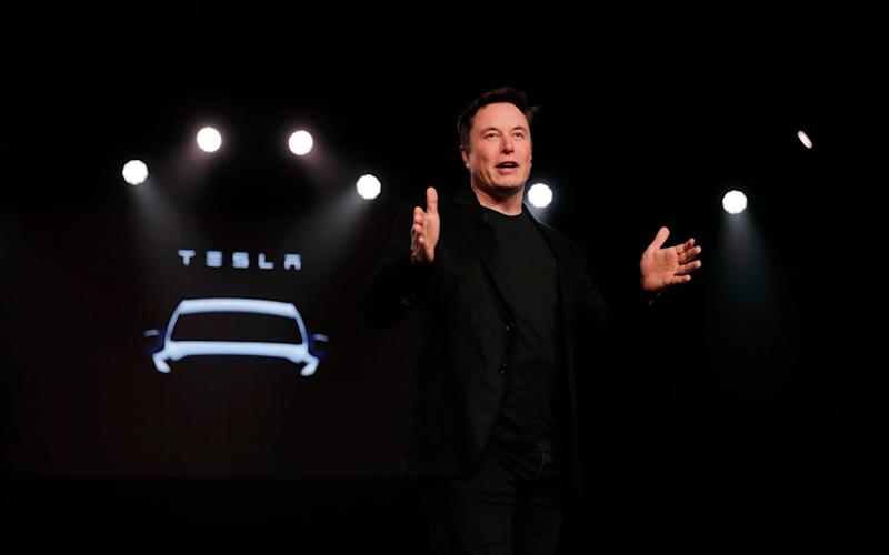Elon Musk made the bold claim during the Tesla shareholder's annual general meeting on Tuesday - AP