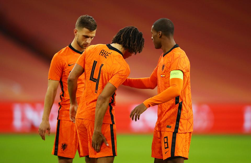 <p>Ake limped out of international duty with the Netherlands</p>Reuters