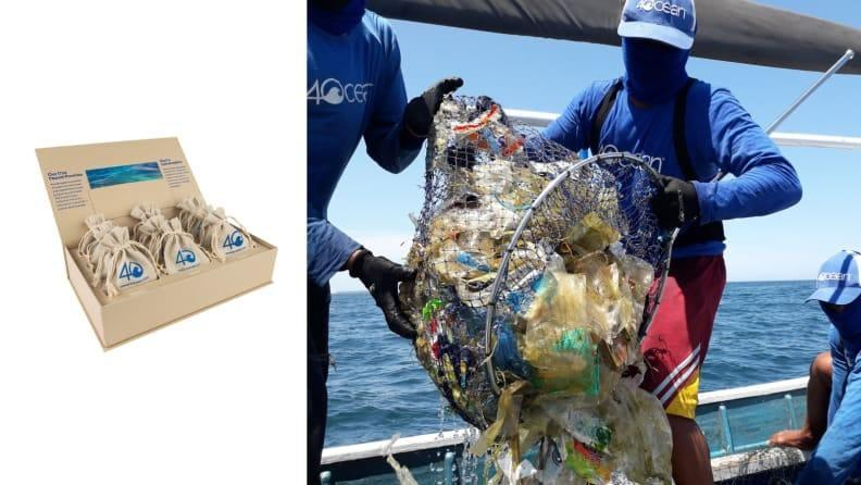 Make purchases that are removing ocean plastic rather than adding to it.