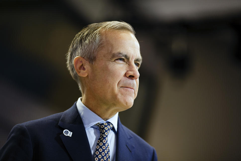 WASHINGTON, DC - OCTOBER 19: Bank of England Governor Mark Carney attends the IMFC meeting on October 19, 2019 in Washington, DC.  (Photo by Thomas Trutschel/Photothek via Getty Images)