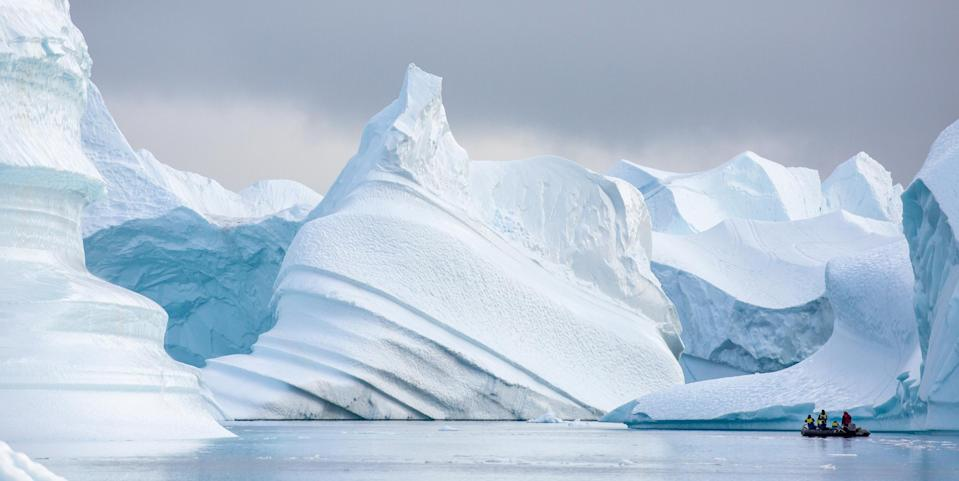 <em>The magnetic North pole is moving – and fast (Picture: Getty)</em>