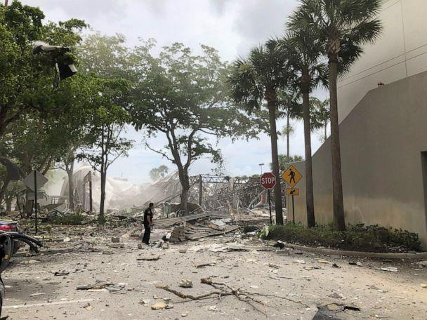 PHOTO: The scene of an explosion in Plantation, Fla., July 6, 2019. (bangcoupe/Instagram )