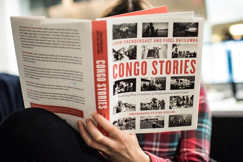"In ""Congo Stories,"" Gosling and the Enough Project's founding director John Prendergast unpack the tortuous history of the mineral-rich DRC and how its residents are looking to the future -- with photos by the actor (AFP Photo/Eric BARADAT)"