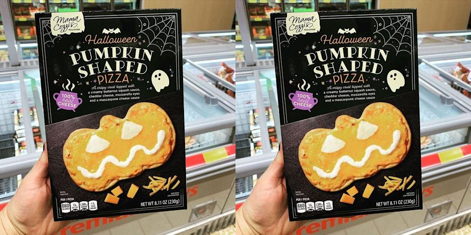 Aldi Is Selling Pumpkin Shaped Pizzas You Don T Even Have To Carve Yourself