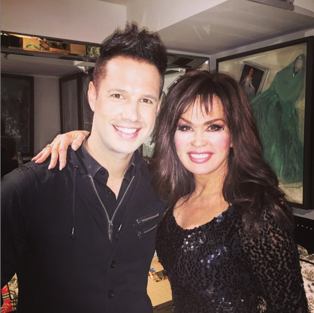 David Osmond and Marie Osmond