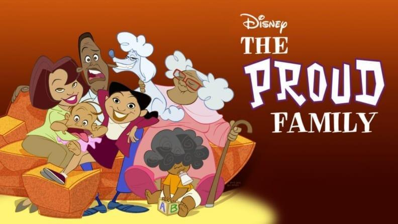 There's a whole lot of love and sass in The Proud Family.