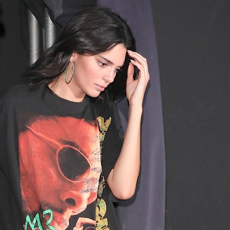 Kendall Jenner Is the Same Age As Her Vintage Shaggy T-Shirt