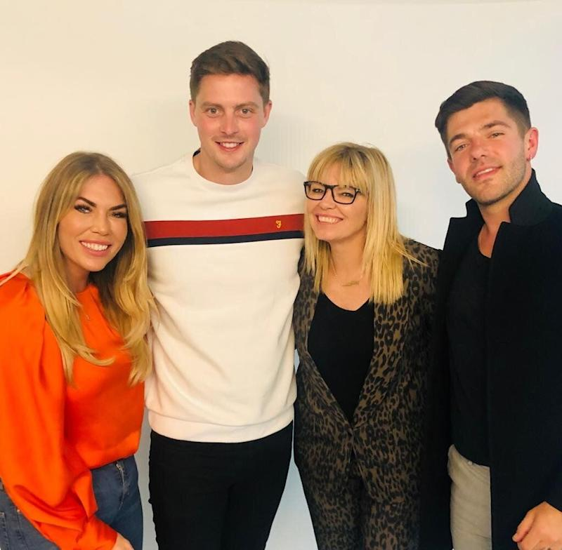 Frankie Essex, Dr Alex George, Kate Thornton and Alex Mytton (Credit: WWQT)