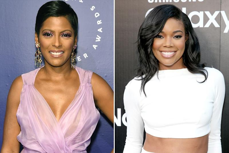 Tamron Hall and Gabrielle Union | Gary Gershoff/Getty Images; Jonathan Leibson/Getty Images