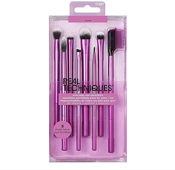 """<h3>Real Techniques Everyday Eye Essentials 8-Piece Eyeshadow Brush Set</h3>This VERY highly-reviewed tool set is designed to give you """"flawless eye looks"""" with eight brushes. The set is most wanted by R29-readers and reviewers alike for its super-soft feel, authentic quality, and affordable price point.<br><br><strong><a href=""""https://www.amazon.co.uk/stores/Real+Techniques/page/1E1C3564-E8CE-4819-A53B-09DB30D25811?ref_=ast_bln"""" rel=""""nofollow noopener"""" target=""""_blank"""" data-ylk=""""slk:Shop Real Techniques"""" class=""""link rapid-noclick-resp"""">Shop Real Techniques </a></strong><br><br><strong>Real Techniques</strong> Everyday Eye Essentials 8-Piece Eyeshadow Brush Set, $, available at <a href=""""https://www.amazon.co.uk/Techniques-Everyday-Essentials-8-Piece-Eyeshadow/dp/B08BX1V7CS/ref=sr_1_3_sspa?"""" rel=""""nofollow noopener"""" target=""""_blank"""" data-ylk=""""slk:Amazon"""" class=""""link rapid-noclick-resp"""">Amazon</a>"""