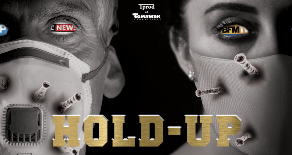 """Affiche du documentaire """"Hold up"""""""