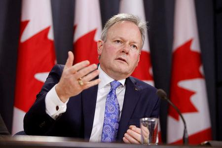 FILE PHOTO --  Bank of Canada Governor Stephen Poloz speaks during a news conference in Ottawa