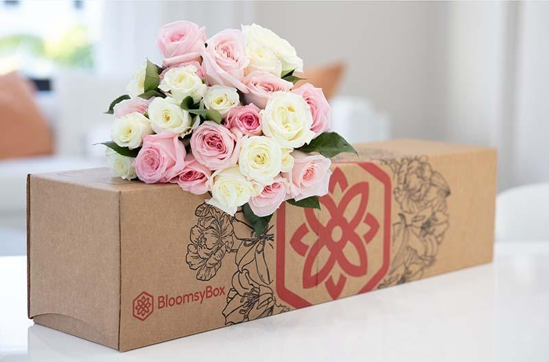 There's nothing as thrilling as a delivery of flowers—on repeat.  (Credit: BloomsyBox)