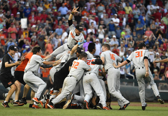 The Beavers completed a comeback for the ages on Thursday. (AP Photo)