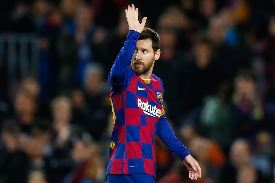 Lionel Messi has papered over the cracks for Barcelona for quite awhile now. (Photo by Eric Alonso/MB Media/Getty Images)