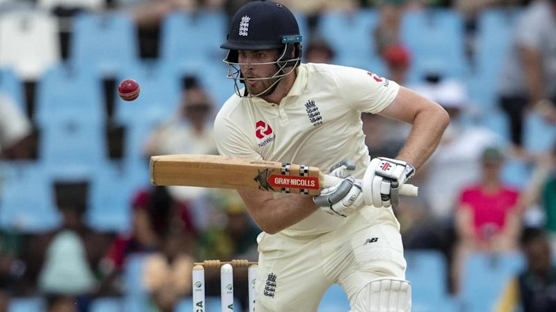 England batsman Dom Sibley is edging towards a maiden half-century against South Africa