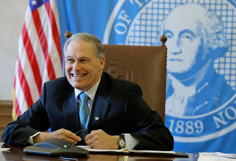 Jay Inslee, Washington's governor is expected to sign the bill into law within days. (AP)