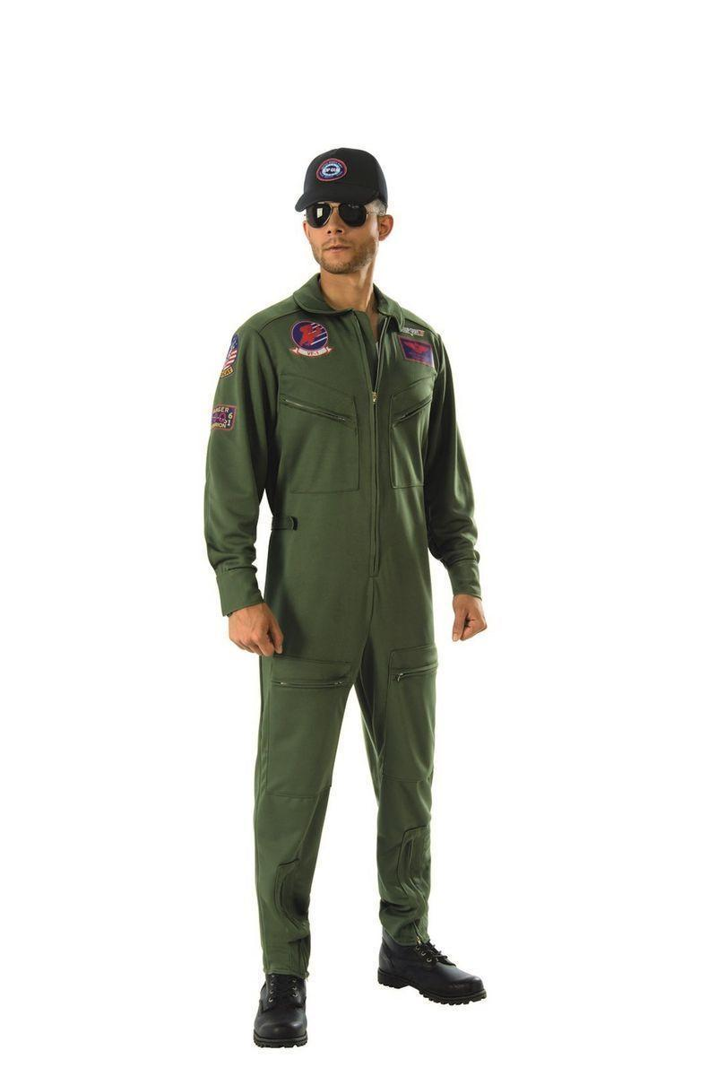 """<p><strong>Top Gun</strong></p><p>walmart.com</p><p><strong>$61.98</strong></p><p><a href=""""https://go.redirectingat.com?id=74968X1596630&url=https%3A%2F%2Fwww.walmart.com%2Fip%2F294702752&sref=https%3A%2F%2Fwww.thepioneerwoman.com%2Fholidays-celebrations%2Fg32645069%2F80s-halloween-costumes%2F"""" rel=""""nofollow noopener"""" target=""""_blank"""" data-ylk=""""slk:Shop Now"""" class=""""link rapid-noclick-resp"""">Shop Now</a></p><p>Ride into the danger zone this Halloween by dressing up as Maverick. If you're lucky, you can convince your best pal to go as Goose.</p>"""