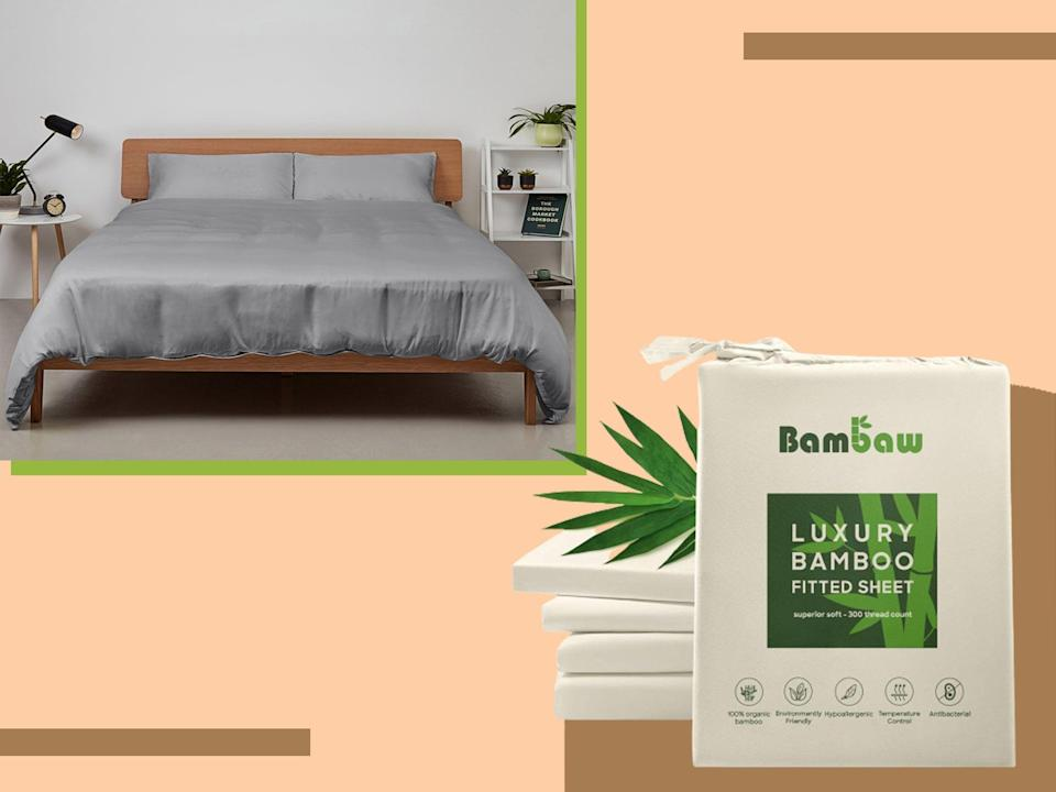 <p>Bamboo sheets don't just look great – they're good for the planet too </p> (The Independent)