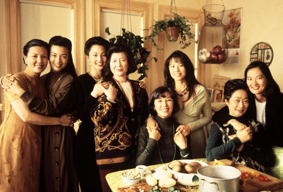 <p><strong><em>The Joy Luck Club</em></strong>(1993)</p><p>Each week, four friends gather for their mahjong game and gossip. They call themselves the Joy Luck Club. The members all have something in common: They emigrated from China, and their Chinese-American daughters are a mystery to them. In <em>The Joy Luck Club</em>, we see eight individual journeys played out, and four relationships developed.</p><p><strong>Why You Should Watch It:</strong> You can go a long time without learning who your mother was before you came into the picture. <em>The Joy Luck Club</em> is a bittersweet look at the sacrifices and joys of motherhood; the realities of immigration and displacement; and proof that the gulfs that often exist between mothers and daughters can be bridged.</p>