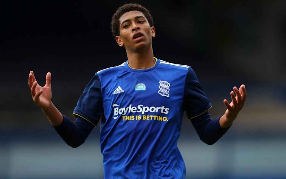 Highly rated Birmingham City midfielder Jude Bellingham - GETTY IMAGES