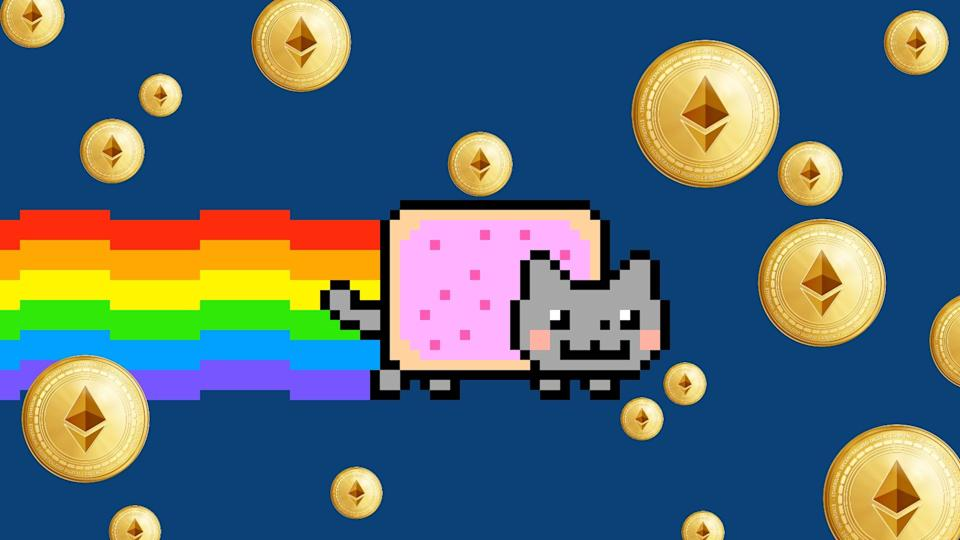 Anything can be an NFT, even memes. Nyan Cat creator Chris Torres sold a GIF of his iconic meme for almost US$60,000.