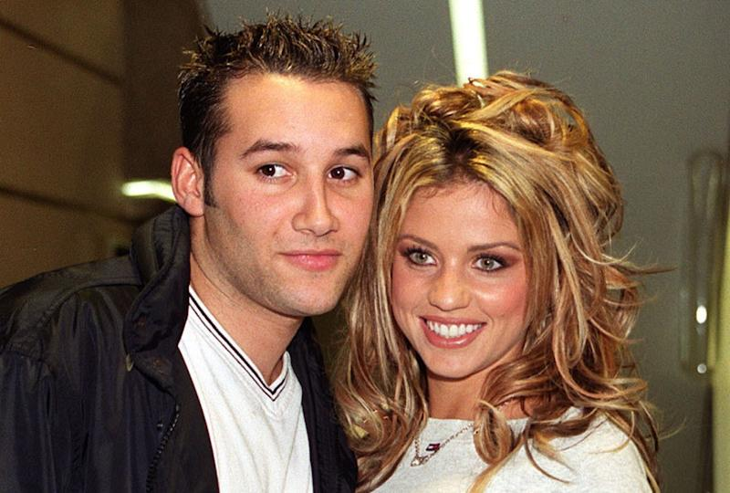 Dane Bowers and Katie Price dated from 1998 to 2000 (Credit: PA)