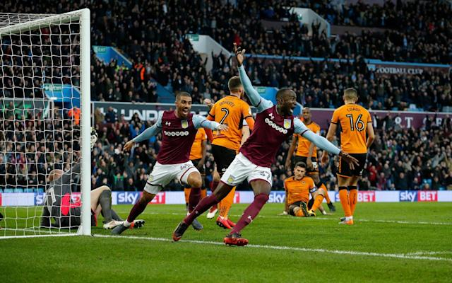 Aston Villa 4 Wolves 1: Steve Bruce gives Villa hope of return to the top table