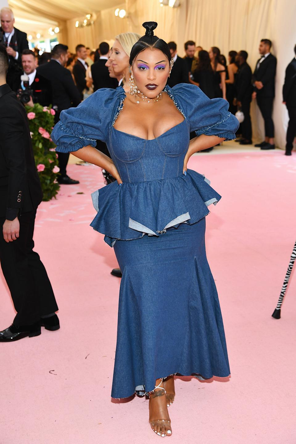 """<h1 class=""""title"""">Paloma Elsesser in Brock Collection</h1><cite class=""""credit"""">Photo: Getty Images</cite>"""