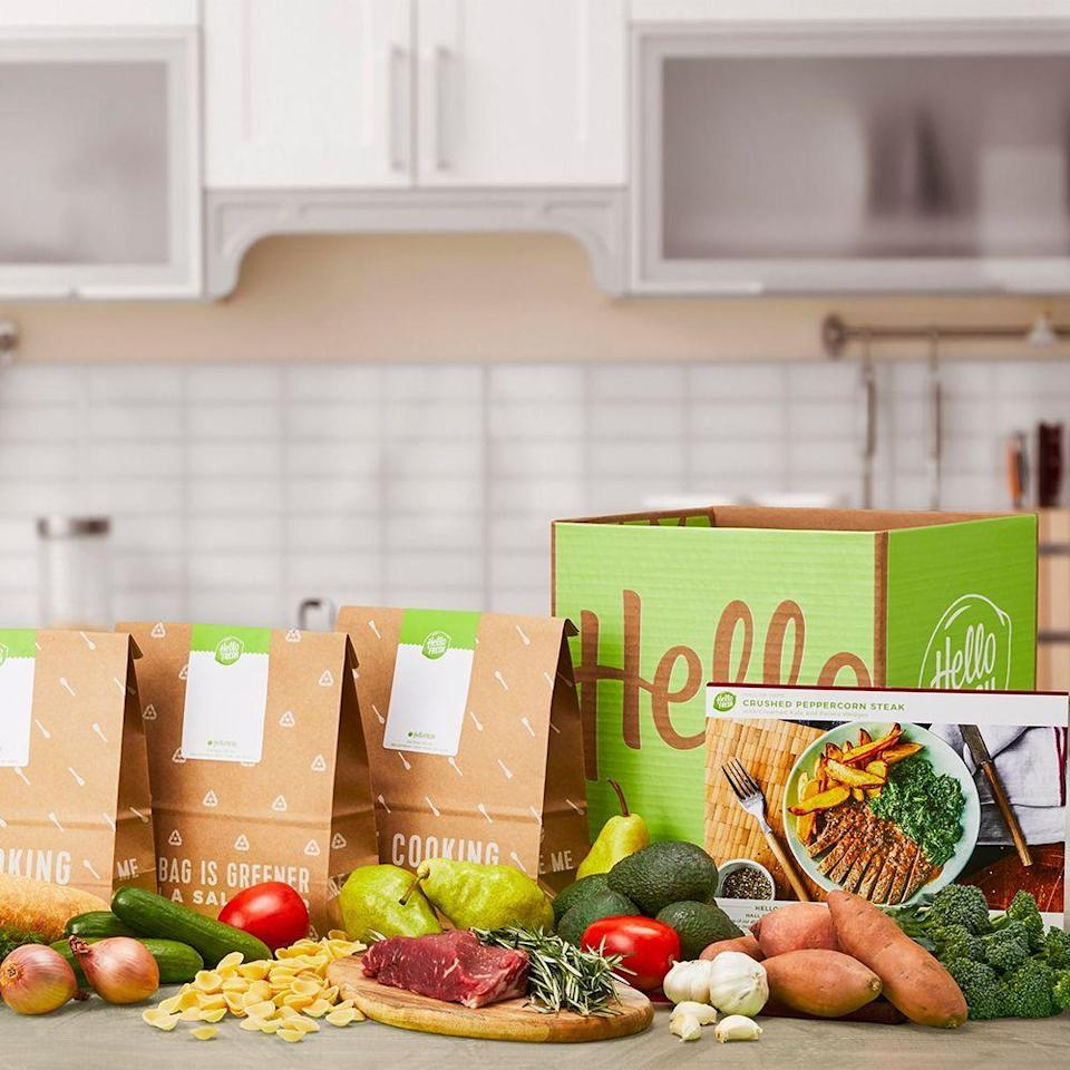 "<p><strong>Hello Fresh</strong></p><p>hellofresh.com</p><p><strong>$65.00</strong></p><p><a href=""https://go.redirectingat.com?id=74968X1596630&url=https%3A%2F%2Fwww.hellofresh.com%2Fgift&sref=https%3A%2F%2Fwww.bestproducts.com%2Fbeauty%2Fg154%2Ftop-gifts-for-her%2F"" rel=""nofollow noopener"" target=""_blank"" data-ylk=""slk:Shop Now"" class=""link rapid-noclick-resp"">Shop Now</a></p><p>Do you know a woman who loves to cook but can't find the time to try new recipes? A gift credit to HelloFresh is the perfect present for the foodie in your life who doesn't love grocery runs.</p>"