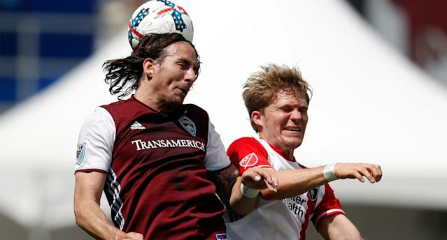 Gordon and the Rapids beat the Earthquakes 3-0. (AP Photo)