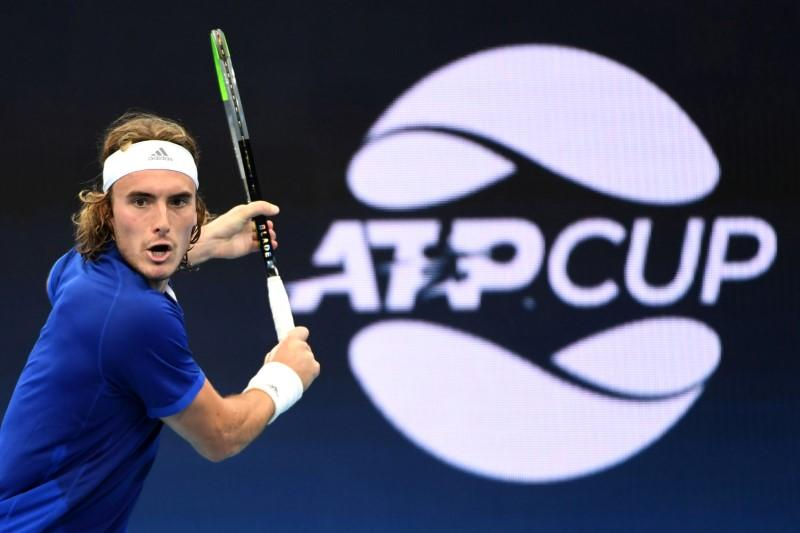 Tsitsipas breezes through his first win at the Australian Open