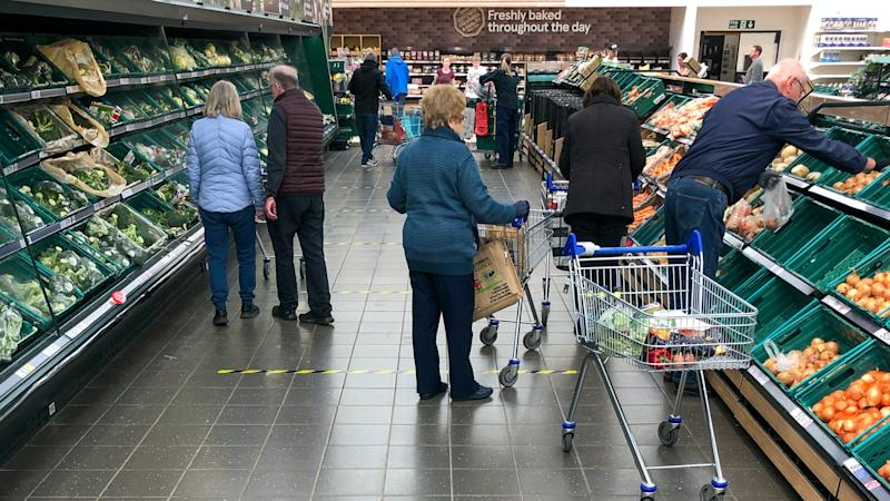 Charities call on supermarkets to support 'extremely vulnerable' people