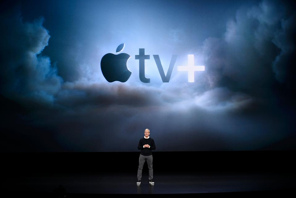 Apple unveils Apple TV Plus streaming service with Hollywood heavyweights