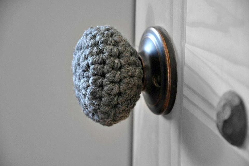 """It'sto help you rock a baby-safe aesthetic.<br /><br /><strong>Promising review:</strong>""""These doorknob covers are perfect! I love it. It's made well and exactly what I needed. I would definitely buy again."""" — <a href=""""https://www.awin1.com/cread.php?awinmid=6220&awinaffid=837483&clickref=HPBabyProofingProductsParentsSwearBy-609c1c8ae4b069dc48f62fef-&ued=https%3A%2F%2Fwww.etsy.com%2Flisting%2F248352074%2Fchild-safe-door-knob-covers-modern"""" target=""""_blank"""" rel=""""noopener noreferrer"""">Pamela Pinchbeck</a><br /><br /><strong><a href=""""https://www.awin1.com/cread.php?awinmid=6220&awinaffid=837483&clickref=HPBabyProofingProductsParentsSwearBy-609c1c8ae4b069dc48f62fef-&ued=https%3A%2F%2Fwww.etsy.com%2Flisting%2F248352074%2Fchild-safe-door-knob-covers-modern"""" target=""""_blank"""" rel=""""noopener noreferrer"""">Get it from A & B Studio on Etsy for $8 (available in 12 colors).</a></strong>"""