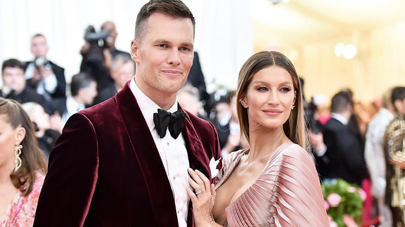 Tom Brady and Gisele Bundchen, pictured here at the 2019 Met Gala in New York.