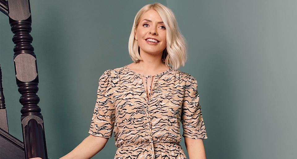 Holly Willoughby shares her favourite May wardrobe staples from M&S. (Marks and Spencer)