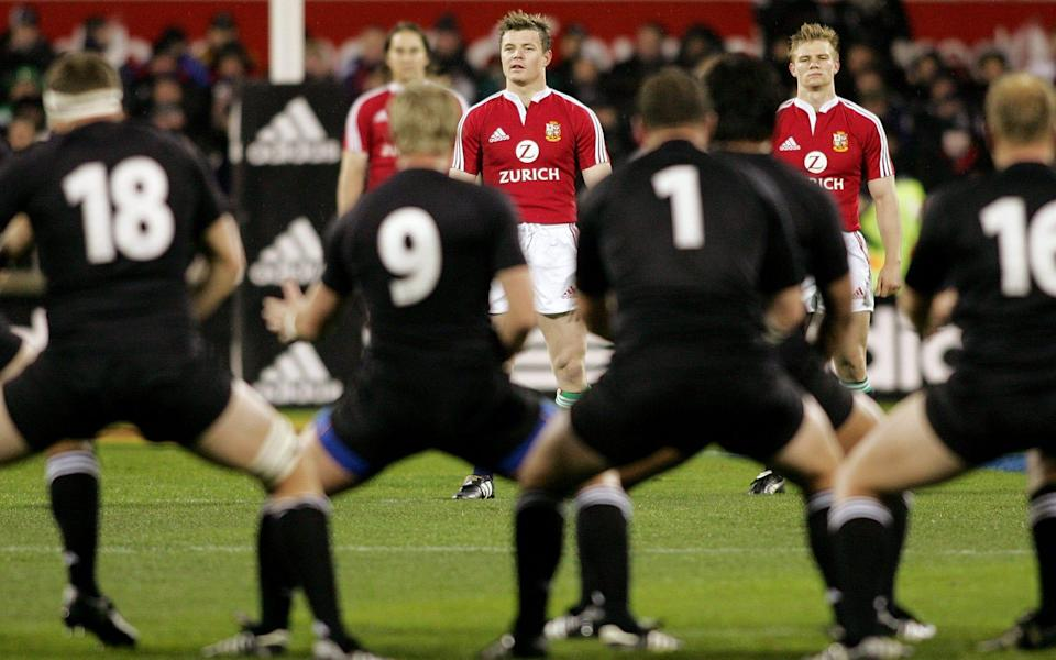 The Lions had to reset their ethos after being thrashed 3-0 by the All Blacks in 2005 - AFP