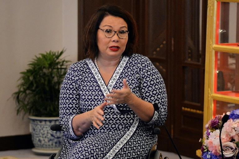 US Senator Tammy Duckworth is the first Thai-American born in Thailand to be elected to Congress