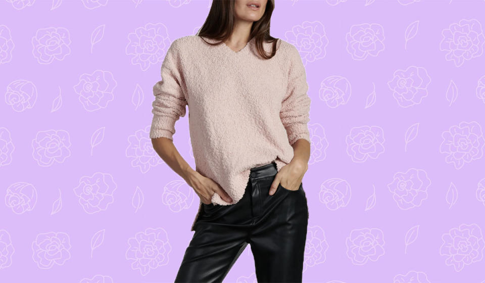 You'll want to wear this fuzzy knit everywhere. (Photo: Nordstrom)